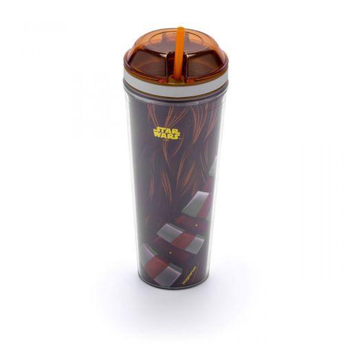 Copo-com-canudo-e-pote-star-wars-chewbacca