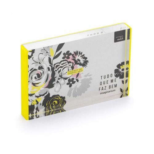 Porta-retrato-flores-pb