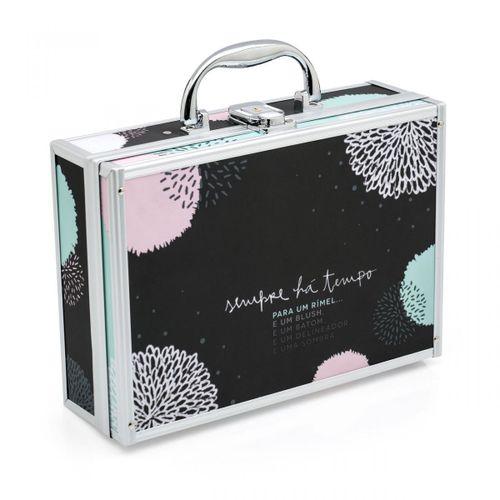 Porta-maquiagem-maleta-pontos-poas