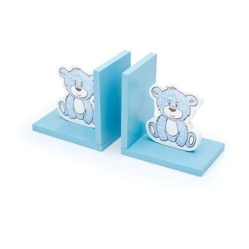 Porta-livros-urso-baby-azul