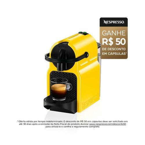 Nespresso-inissia-amarela-127v