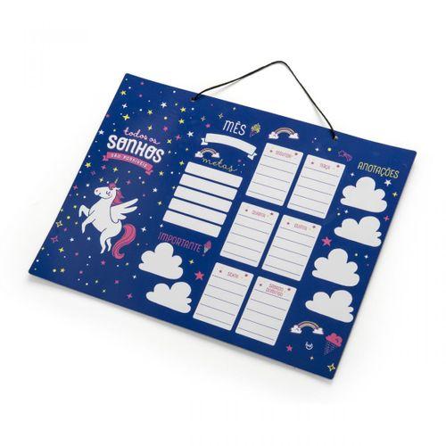 Planner-unicornio
