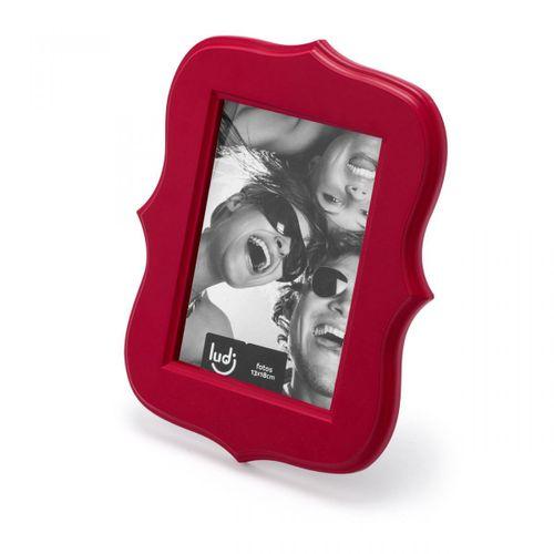 Quadro-porta-retrato-vermelho