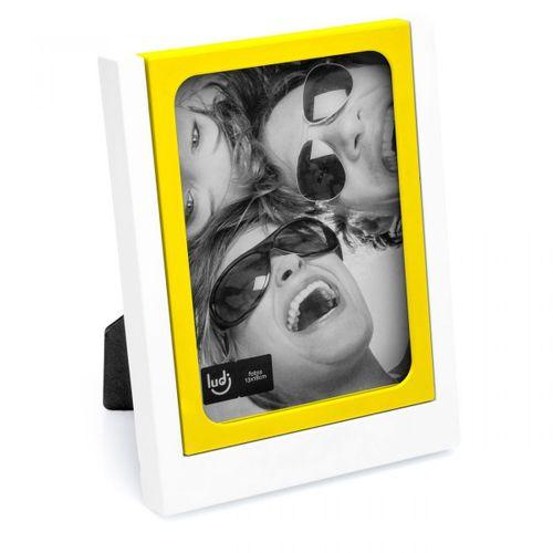 Porta-retrato-encaixe-amarelo
