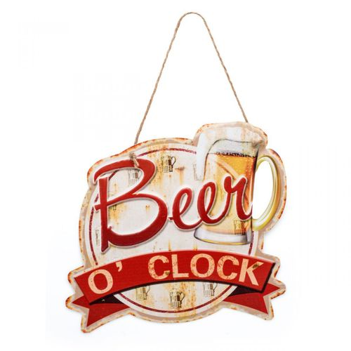 Placa-beer-o-clock