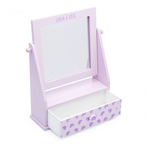 Porta-bijoux-com-espelho-sou-sereia