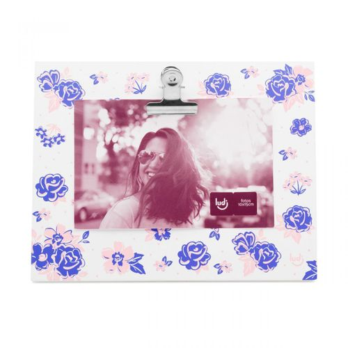 Porta-retrato-clipes-jardim-florido
