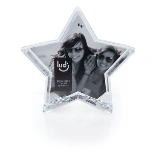 Porta-retrato-globo-de-neve-estrela