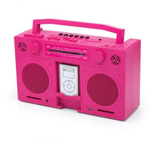 Radio-boombox-dockstation-rosa