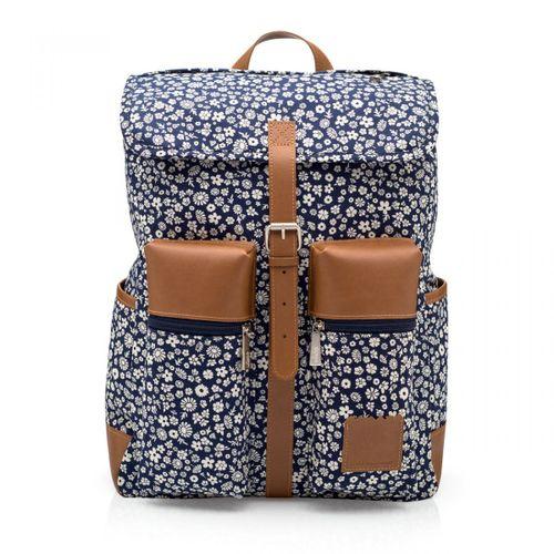 Mochila-trilha-floral-azul