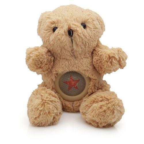 Caixa-de-som-bear-marrom
