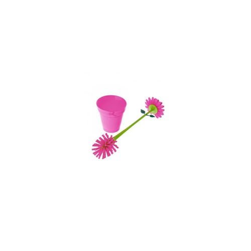 Escova-lava-loucas-flor-rosa