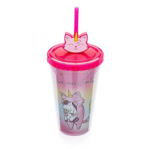 Copo-com-pingente-gato-unicornio