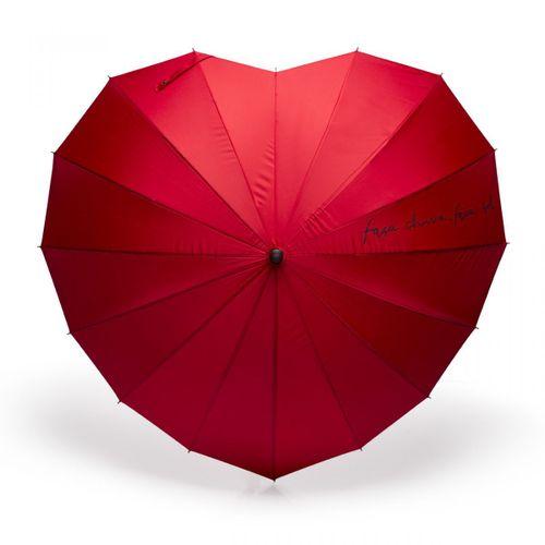 Guarda-chuva-coracao