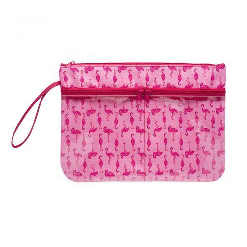 Necessaire-com-bolsos-flamingos