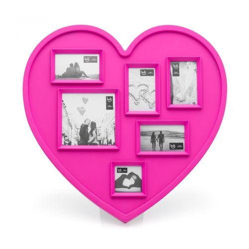 Painel-de-fotos-coracao-rosa