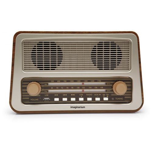 Radio Amplificador Retro 127V