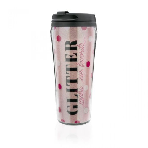 Copo-para-viagem-glitter-amo-make-rosa