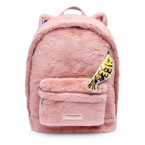 Mochila-gato-rosa