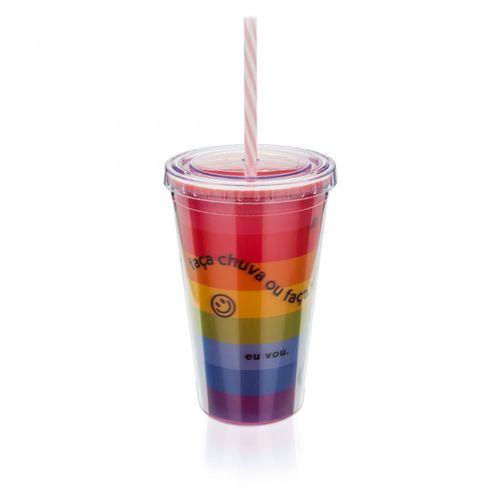 Copo-com-canudo-3d-arco-iris