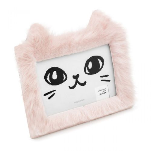 Porta-retrato-gatinho