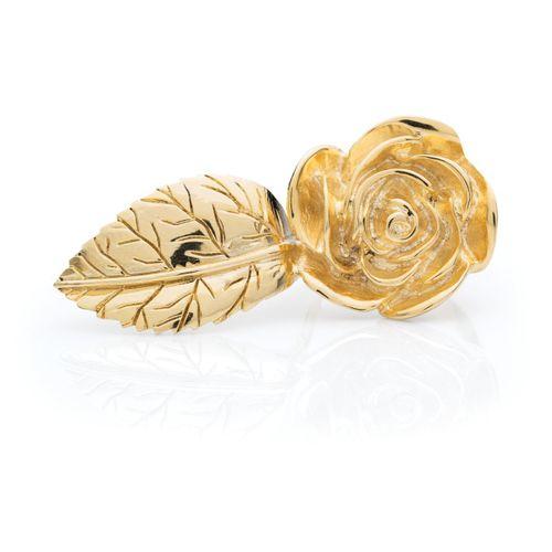 Anel-folha-e--rosa-dourada-tam-18