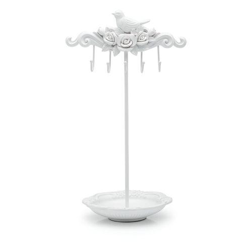 Porta-bijoux-passaro-e-flores