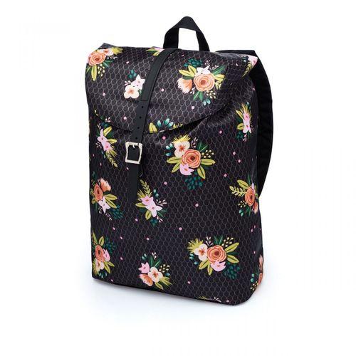 Mochila-pink-flores-preta