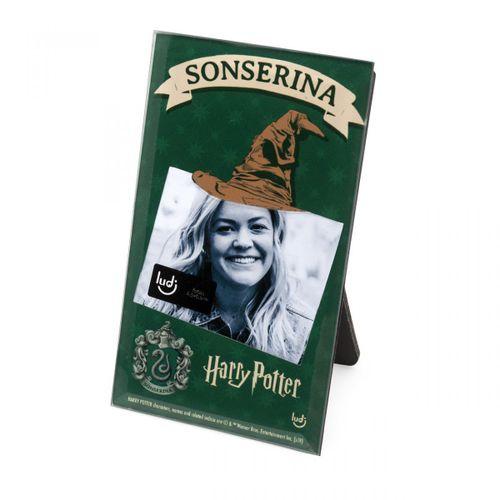 Porta-retrato-cartao-harry-potter-sonserina