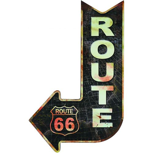 Placa-route-66-seta-201