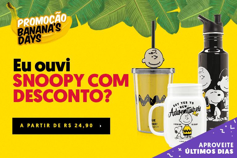 A - banana copo snoopy