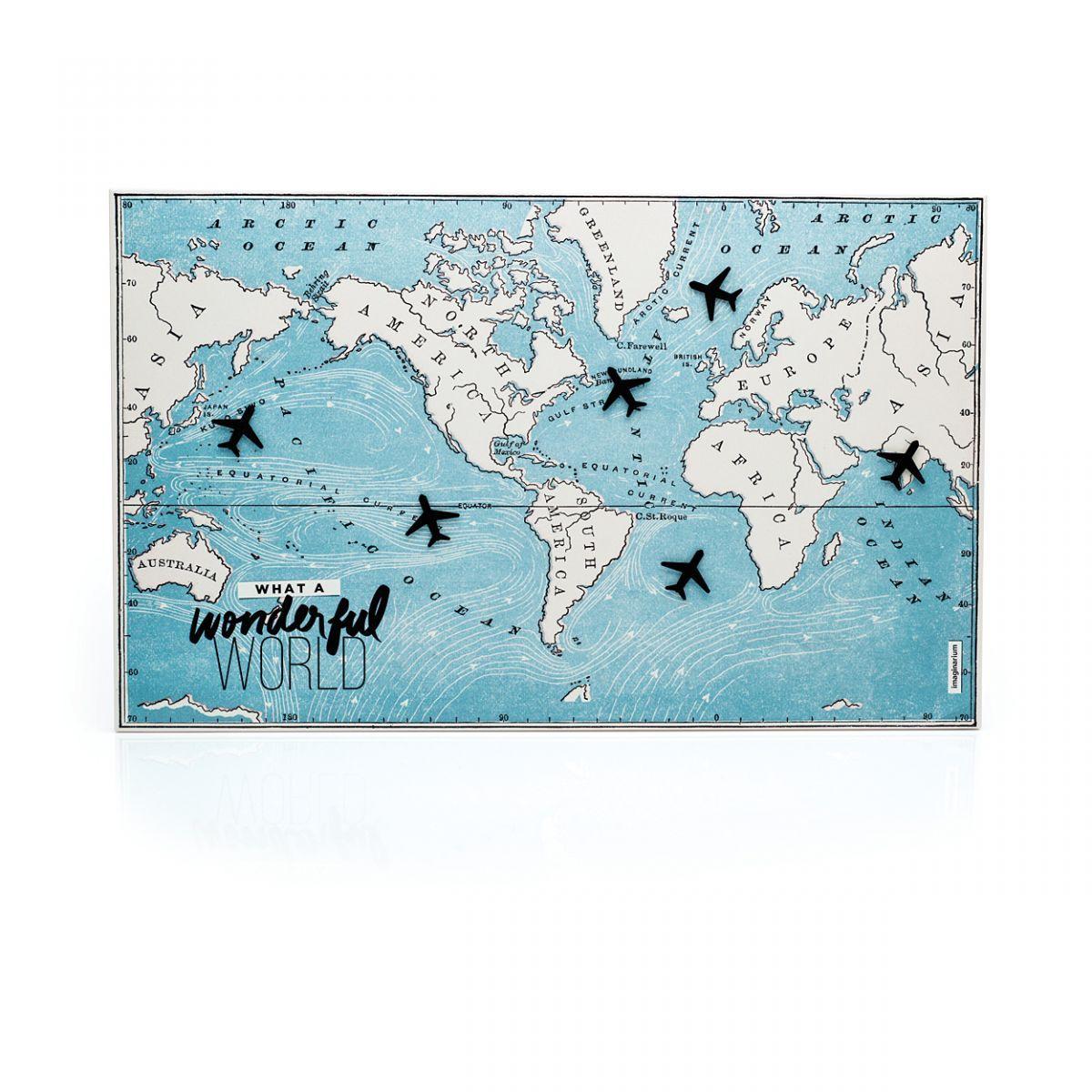 Painel mapa - Imaginarium