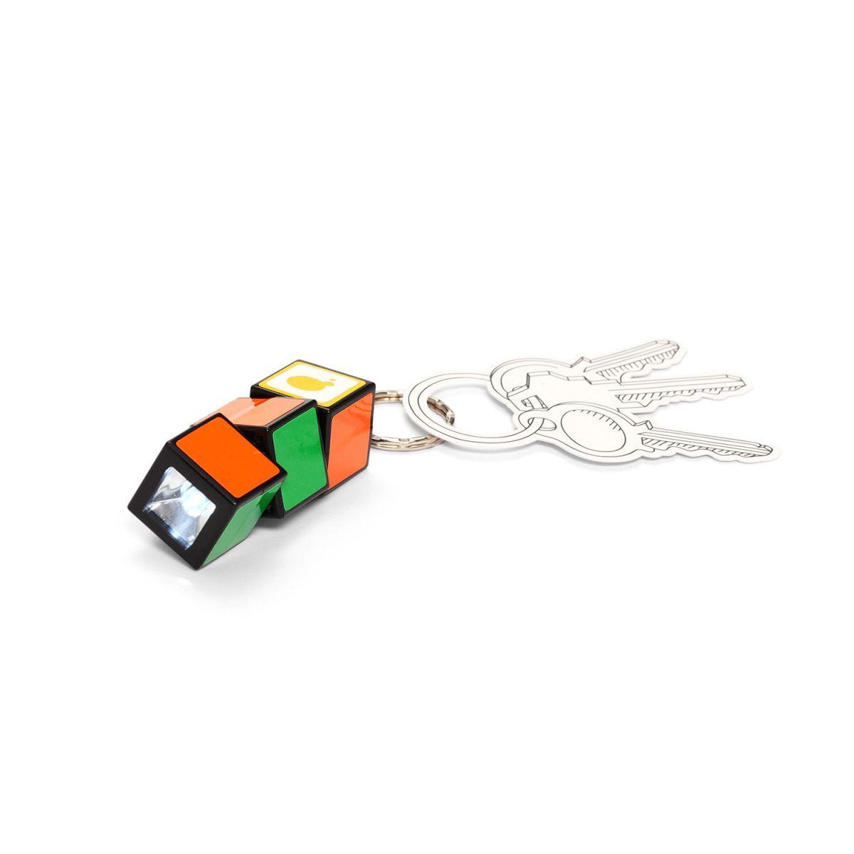 638bfc880a7ab Chaveiro lanterna cubo colorido - Imaginarium