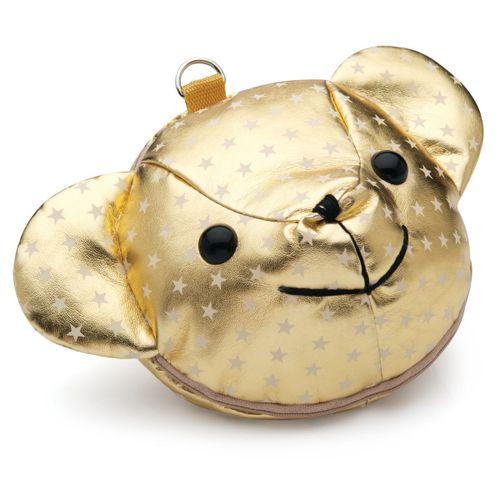 Porta-cd-bear-dourado-201