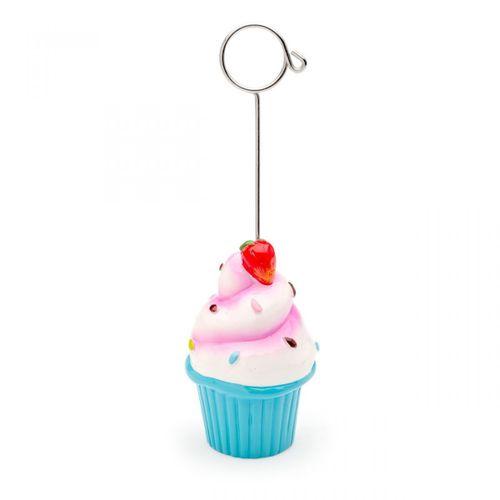 Porta-recados-cupcake-azul