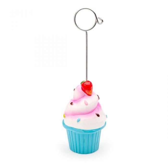 Porta Recados Cupcake Azul Ludi