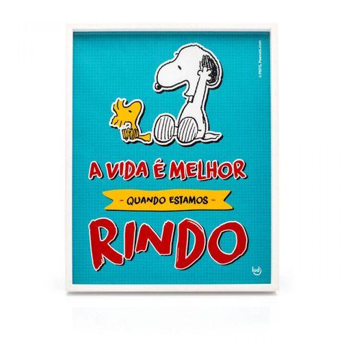 Quadro-snoopy-comics