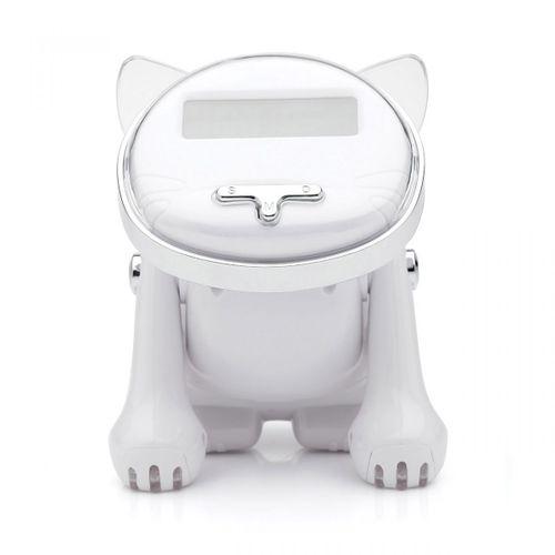Despertador-gato-robo-branco