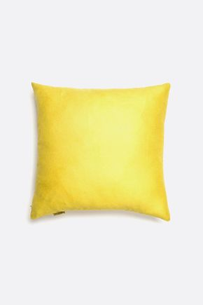 Capa-de-almofada-suede-amarela