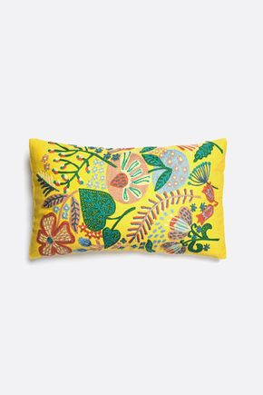 Capa-de-almofada-tropical-amarela