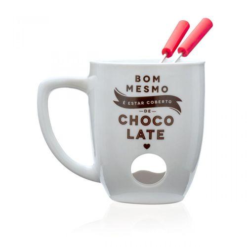 dcb542757 Caneca fondue coberto de chocolate - pi2785