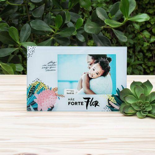 Porta-retrato-mae-forte-flor