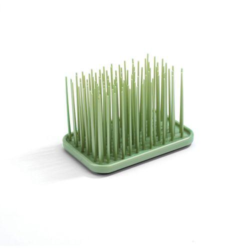 Porta-escova-de-dente-grama-verde
