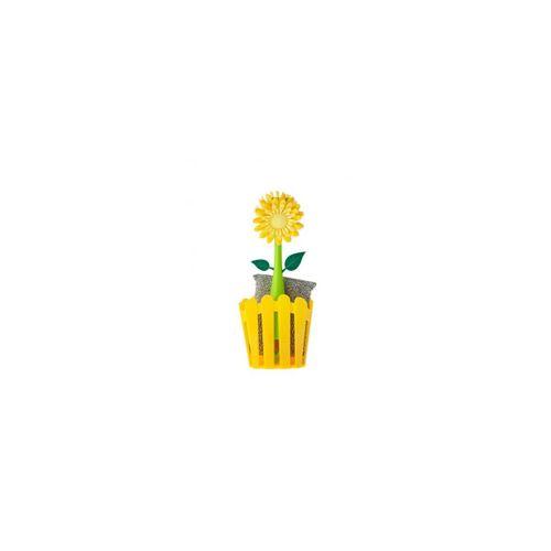 Kit-lava-loucas-2-pcs-flor-amarelo