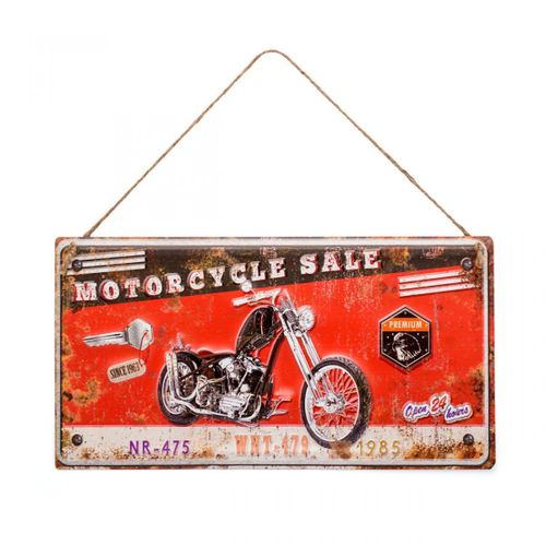 Placa-motorcycle