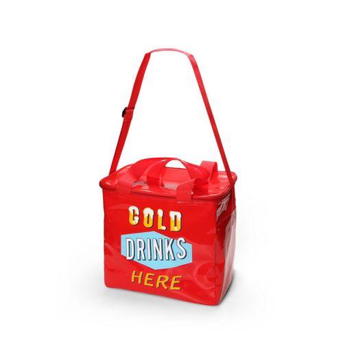 Cooler-drinks-gelados-grande-vermelho
