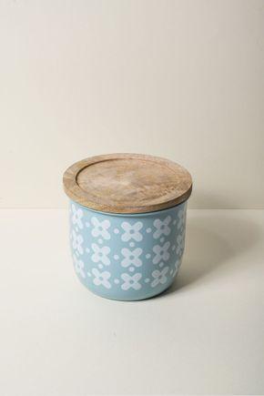Pote-metal-madeira-azul
