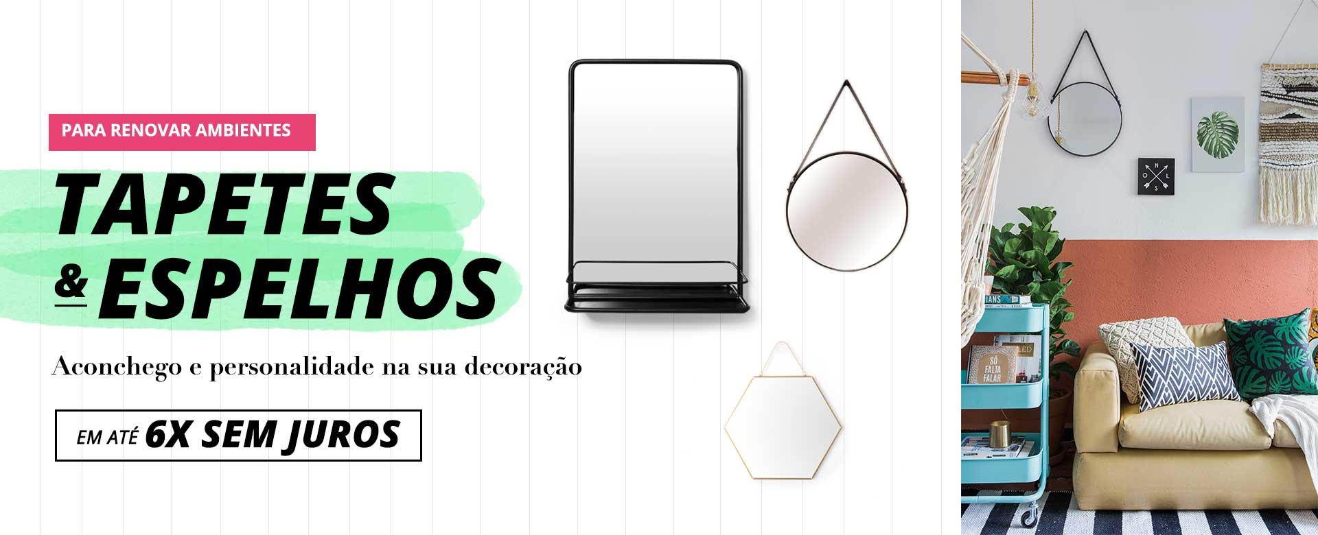 A - Tapetes Espelhos