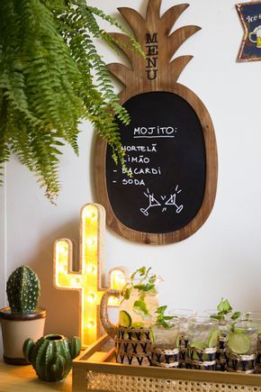 Quadro-lousa-abacaxi