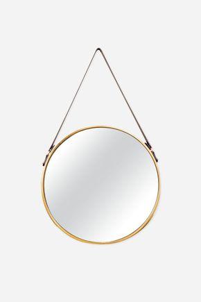 Espelho-metal-dourado